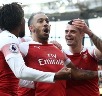 Aubameyang preserves faultless finishing record to top Premier League goal chart