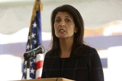 Haley wants UN to move aid focus to nations hosting Syrians