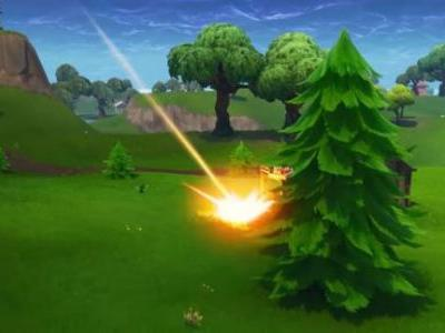 Watch Fortnite's meteorites crash near players as Epic teases Season 4