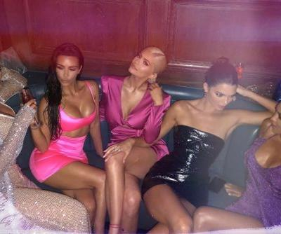 Kardashians sparkle in sexy dresses at Kylie Jenner's 21st birthday bash