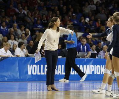 BYU's Heather Olmstead named national volleyball coach of the year