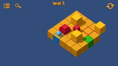 Use obstacles and traps to your advantage in Cubiscape, now out on Google Play