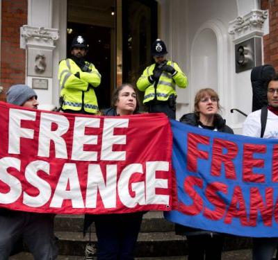 After six years in London's Ecuadorian embassy, Julian Assange is set to take his first steps into a changed world