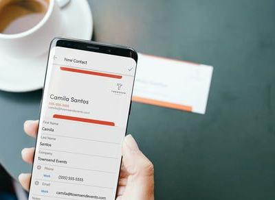 Adobe Scan now now automatically turn business cards into phone contacts