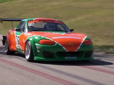 This Hill Climb-Spec Mazda MX-5's 9000rpm Redline Is A Treat For The Ears
