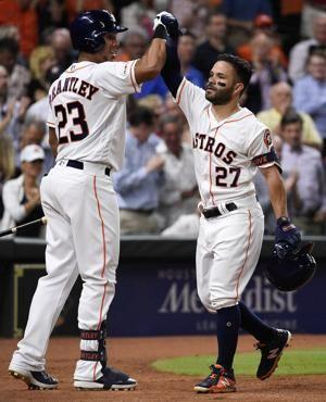 Altuve homers, Springer helps Astros rally past Yankees 6-3