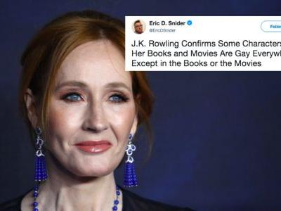 These Tweets & Memes About JK Rowling Explaining Dumbledore's Sexuality Are So Over It