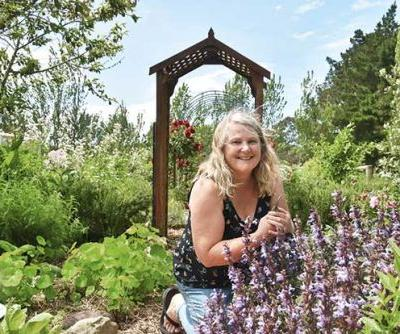 How a Tauhiwi apothecary founder Cathy Bouma transformed clay soil to an organic block bursting with herbs