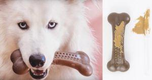 Heavy chewing dog? They'll go peaNUTS over this durable USA Made bone