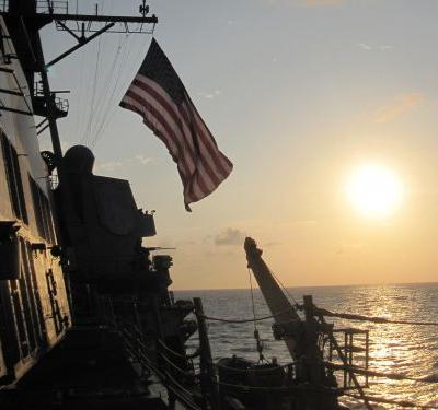 US Navy challenges Beijing in the South China Sea amid trade war rumblings