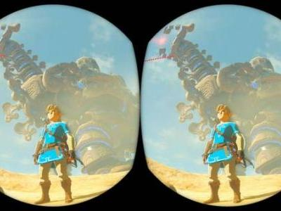 The Legend of Zelda: Breath of the Wild's Nintendo Labo VR Kit update will allow for rotational tracking