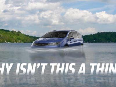 Some Major Automaker Needs to Make an Amphibious Minivan and I'm Not Even Kidding
