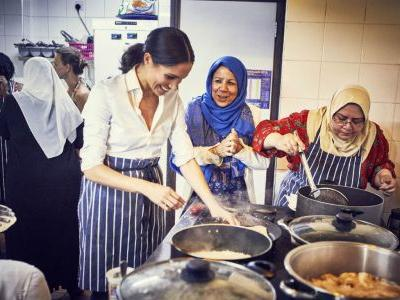 Meghan Markle Wrote The Foreword To A New Charity Cookbook - And She's Opening Her Door To Celebrate
