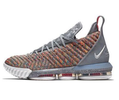 """Nike's LeBron 16 """"Multicolor"""" Launches Next Month"""