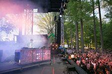 Merriweather Post Pavilion Roof Collapses During Renovation