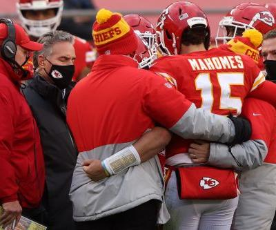 Kansas City Chiefs overcome injury to Patrick Mahomes, hold off Cleveland Browns to reach AFC championship game