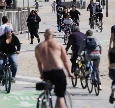 All Los Angeles County beaches are closing to the public amid California's statewide stay-at-home order to slow the spread of the coronavirus