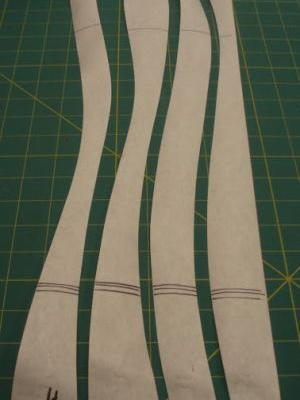 Quiltmaking 101 - freehand and curved seams 3