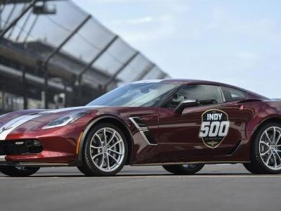 The Latest Indy 500 Pace Car Is A Glorious Burgundy Corvette Grand Sport
