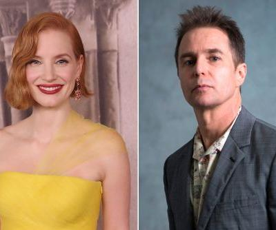 Jessica Chastain and Sam Rockwell to present at the Golden Globes