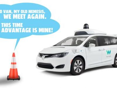 Watch A Waymo AV Get Freaked Out By Traffic Cones, Block Traffic, And Evade Support Vehicles