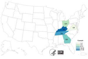 So, what's causing a 5 state, 96 person E. coli O103 Outbreak?