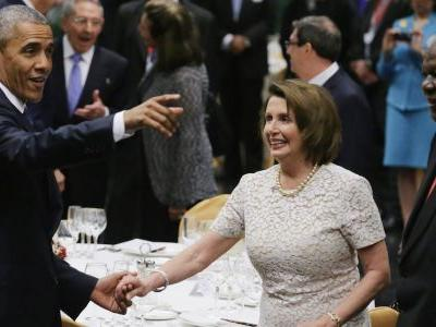 'Naive and self-destructive': Big Democratic donors back Nancy Pelosi and warn that funding will be cut in half if she's pushed out