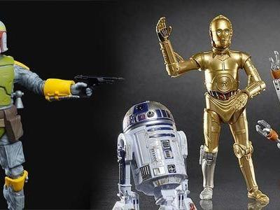 Cool Stuff: Hasbro Reveals New 'Star Wars' Black Series Figures, An Innovative Lightsaber Prototype & More