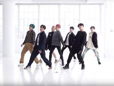 "The Video Of BTS' ""Boy With Luv"" Dance Practice Reveals They Work Hard To Make It Look Easy"