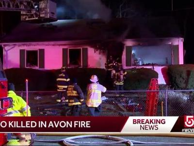 2 killed in Avon fire on Christmas night