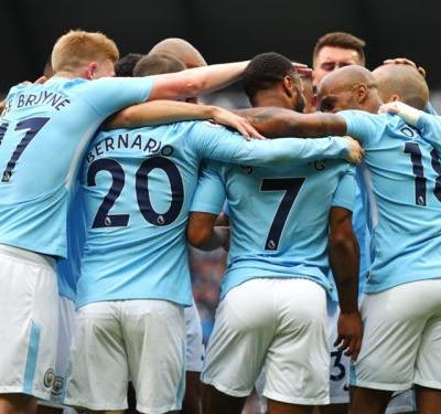 Manchester City 5 Swansea City 0: Guardiola's champions turn on the style