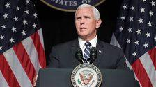 Mike Pence Unveils Plans For New Space Force Military Branch By 2020