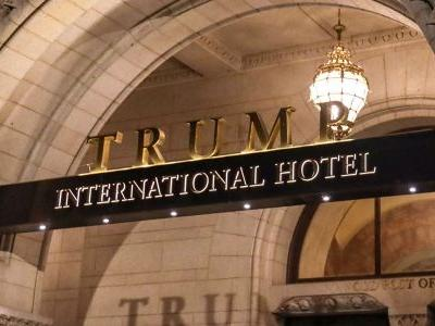 Trump made $40.8 million last year from a hotel that critics say he's using to illegally profit from the presidency