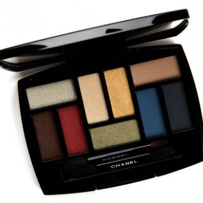 Chanel Quintessence Les 9 Ombres Multi-Effects Eyeshadow Palette Review & Swatches