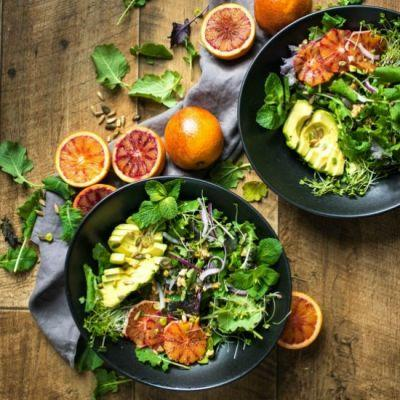 Blood Orange Salad + Dressing