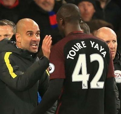 Guardiola refutes Yaya Toure racism claims: It's a lie and he knows it