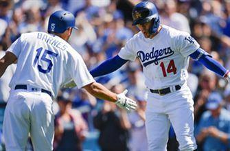 Dodgers set Opening Day record with 8 home runs in 12-5 rout of Diamondbacks