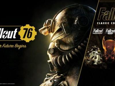 Fallout Classic Collection available free to Fallout 76 players ahead of next week's patch