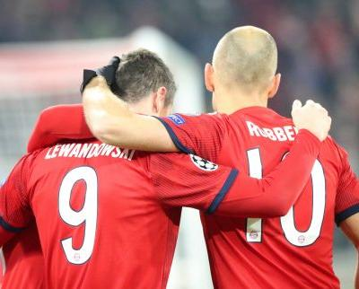 Bayern routs Benfica 5-1 to advance in Champions League