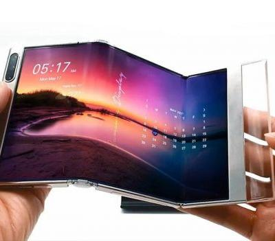 Samsung shows off foldable display concepts of the not-too-distant future