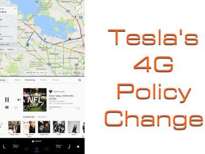 Tesla Changes 4G Internet Access Policy For All New Tesla Electric Cars: Here's What It'll Mean
