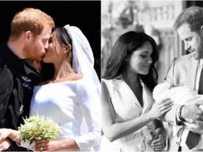 New mommy Meghan Markle and Prince Harry celebrate first wedding anniversary with son Archie
