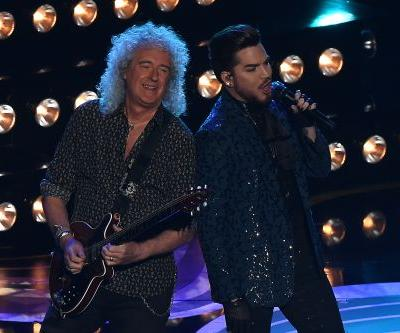 """Oscars 2019: Queen & Adam Lambert Perform """"We Will Rock You"""" & """"We Are The Champions"""""""