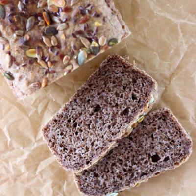 Gluten-Free Vegan Walnut Bread