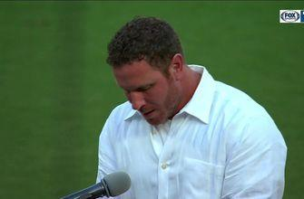 Josh Hamilton Standing Ovation and Speech | Texas Rangers Hall of Fame Ceremony