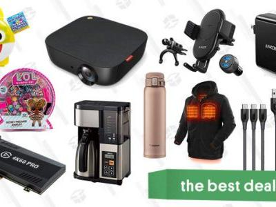 Tuesday's Best Deals: Anker Projector, Heated Jackets, Elgato Capture Cards, and More