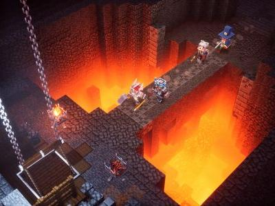 Minecraft Dungeons, a Diablo-lite dungeon crawler, is out - here how to download it