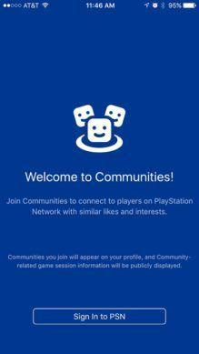 PlayStation 4 Gets a New Communities Mobile App