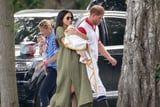 Meghan Markle Takes Off the Belt on Her Linen Dress, Proceeds to Be the Chillest Mom Ever