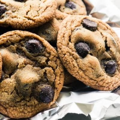 Chewy Ginger Chocolate Chip Cookies